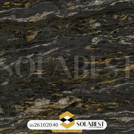 سنگ اسلب گرانیت Black Cosmic Brazil Granite