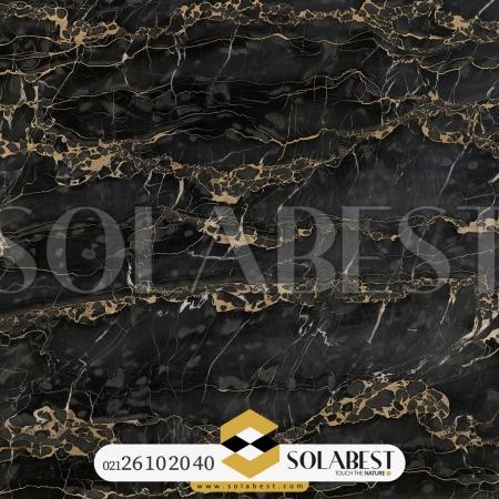 سنگ اسلب مرمریت Black Portoro Italy Marble