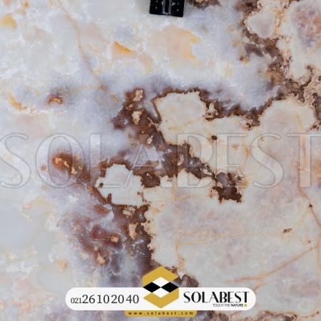 مرمر سفید شال زرشکی