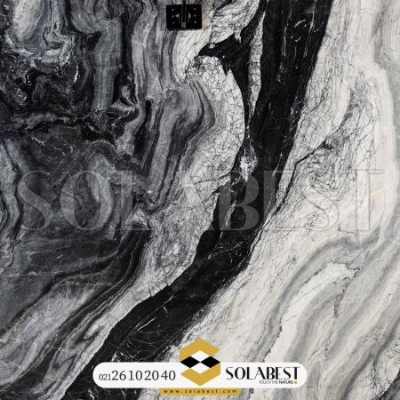 سنگ اسلب مرمریت Black river