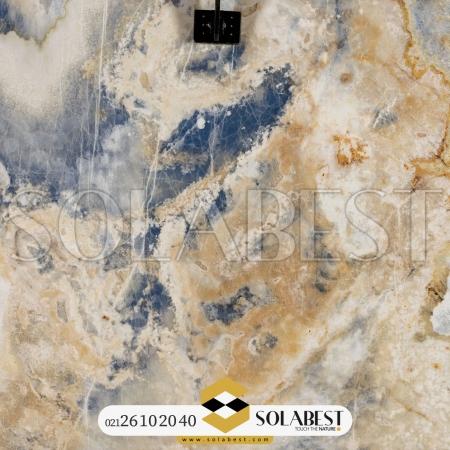 مرمر عباس آباد رنگ شده